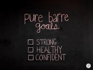 barre goals